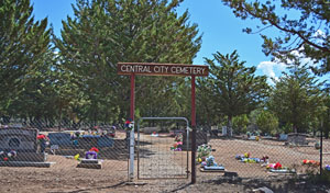 Cemetary near Central Utah Homes