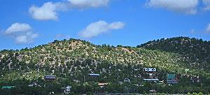Central Utah Homes for sale on the hillside