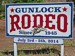 Gunlock Utah Rodeo