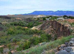 LaVerkin Utah Ravine