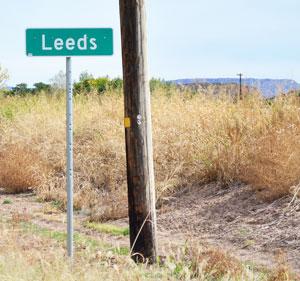 Leeds Utah Sign