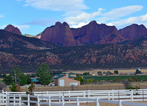 Views from New Harmony Utah
