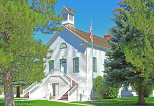 Pine Valley Utah Historic Church