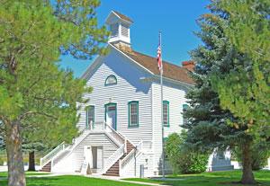 Pine Valley Utah Historic Church