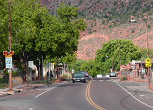 Downtown Springdale Utah homes