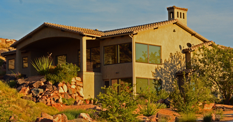 Whisper Ridge Southern Utah home