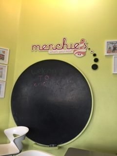 Kids area at Menchies
