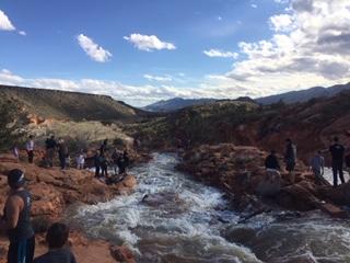 Waterfalls at Gunlock