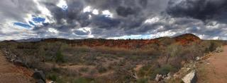 Clouds above Gunlock